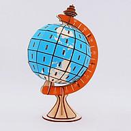 Đồ chơi lắp ráp gỗ 3D Mô hình Trái Đất Globe thumbnail