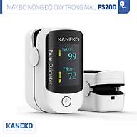 Máy đo nồng độ oxy trong máu KANEKO FS20D,máy đo nồng độ SPO2,máy đo oxy kẹp tay kẹp tai kẹp chân,máy đo khí oxy có màn hình hiển thị rõ ràng,máy đo nhịp tim thumbnail