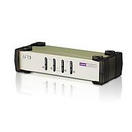 Bộ chuyển đổi 4 cổng PS 2- USB VGA KVM Switch - Aten CS84U - Hàng chính hãng thumbnail