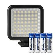 Đèn 49 LED Trợ Sáng Kèm 04 Pin Sạc AA 1200mAh Doublepow Cao Cấp AZONE thumbnail