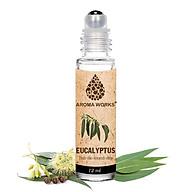 Chai Lăn Tinh Dầu Thiên Nhiên Khuynh Diệp Aroma Works Eucalyptus Essential Oils Roll On 12ml thumbnail