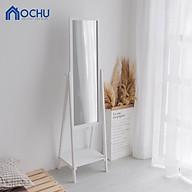 Gương Kệ Soi Toàn Thân Khung Gỗ OCHU - Mirror Shelf thumbnail