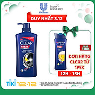 Dầu Gội Sạch Gàu Clear Men Deep Cleanse Sạch Sâu (900g) thumbnail