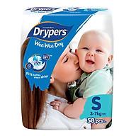 Tã Dán Drypers Wee Wee Dry Gói Đại S58 (58 Miếng) thumbnail