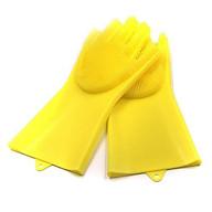 2 găng tay rửa chén thần kỳ- Găng tay silicon tạo bọt- Găng tay tạo bọt 1 đôi (Màu ngẫu nhiên) thumbnail