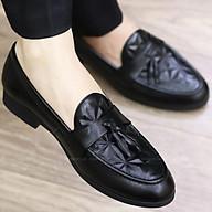 Giày Da nam cực chất xả kho giá gốc - giày lười nam G012 CHUÔNG thumbnail