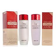 Bộ dưỡng da - Bộ dưỡng trắng da săn chắc chống lão hóa từ Collagen 3W CLINIC Hàn Quốc [Nước Hoa Hồng+Sữa] thumbnail