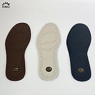 Lót Giày Da XIMO XLDG05 Êm Chân Và Thoáng Khí Khử Mùi thumbnail