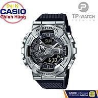 Đồng Hồ Nam Casio G-Shock GM-110-1ADR Chính Hãng G-Shock GM-110-1ADR Silver Metal Dây Nhựa thumbnail