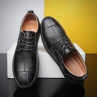 Giày lười - giày đậu Hà Lan nam phong cách Nhật Bản mũi tròn có dây - Mã 8205 thumbnail