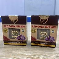 Combo 2 set Nhụy hoa nghệ tây Red Gold Saffron hộp 1g thumbnail