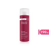Toner phục hồi độ ẩm cho da Paula s Choice Skin Recovery Enriched Calming Toner 190ml thumbnail