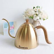 Ấm rót cà phê pour over Brewista 700ml - Vàng đồng thumbnail