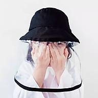 Nón thời trang có lớp nhựa trong suốt che bụi, ngăn ngừa Virus - Vi khuẩn thumbnail