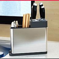 Hộp inox đựng dụng cụ nhà bếp thiết kế nhỏ gọn tiết kiệm diện tích. thumbnail