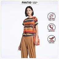 Quần lửng chất liệu thô đũi dáng boom BQL52201- PANTIO thumbnail