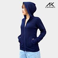 Áo khoác nữ cao cấp 100% Cotton 4 chiều thoáng mát, chống nắng tốt, thấm hút mồ hôi, chống tia UV bảo vệ cơ thể thumbnail