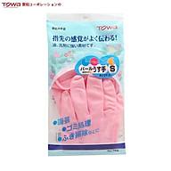 Găng tay cao su tự nhiên Towa size S,M hàng nội địa Nhật Bản thumbnail