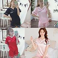 đồ bộ pizama ngắn, set pijama Kate lụa đẹp 0087 thumbnail