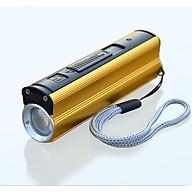 Đèn pin siêu sáng kiêm bật lửa, sạc dự phòng ( Tặng 03 nút kẹp cao su giữ dây điện ) thumbnail