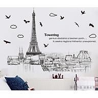 Decal Dán Tường Tháp Eiffel thumbnail