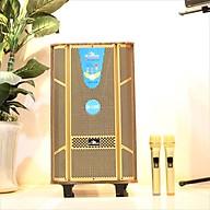 Loa kéo di động 3 tấc Kiomic K128 - Loa kéo hát karaoke - Đầy đủ cổng kết nối - Tặng kèm 2 micro UHF - Công suất cao lên đến 300W - Đầy đủ núm điều chỉnh bass treble echo - Chất lượng âm thanh cực chuẩn - Hàng nhập khẩu thumbnail