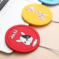 Đế lot ly hâm nóng dễ dàng - Cổng sạc USB siêu tiện lợi (Giao hàng theo mẫu ngẫu nhiên) thumbnail