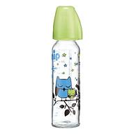 Bình Sữa Thủy Tinh Cổ Thường Nip NIP35071 Cho Bé Trai (250ml - Size M) thumbnail
