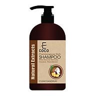 Dầu gội dược liệu hỗ trợ trị gàu Ecoco với chiết xuất tự nhiên, dừa, hà thủ ô 336g thumbnail