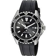 Citizen Promaster Diver Eco-Drive Black Dial Men s Watch BN0200-05E thumbnail