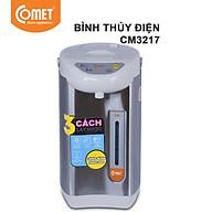 Bình thủy điện thép không gỉ Comet CM3217 3.4 Lít (Bạc) - Hàng Chính Hãng thumbnail