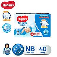 Tã dán sơ sinh Huggies Diapers New Born NB40 thumbnail