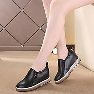 Giày Lười Da Thật Đế Nâu Cao Cấp 7CM L575-555 thumbnail