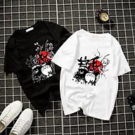 Áo thun Nam Nữ Không cổ GẤU TRÚC PU PO CIMT-0012 mẫu mới cực đẹp, có size bé cho trẻ em áo thun Anime Manga Unisex Nam Nữ, áo phông thiết kế cổ tròn basic cộc tay thoáng mát thumbnail