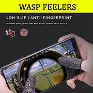 Bao tay chơi game cảm ứng Wasp Feelers găng tay chống mồ hôi, chống trượt - 1 ngón lẻ no box thumbnail