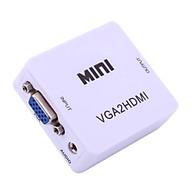 Bộ chuyển đổi tín hiệu từ VGA sang HDMI VGA to HDMI converter mini thumbnail