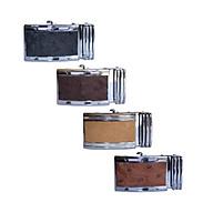 HP9421-22-23-24 - Đầu khóa da đà điểu Huy Hoàng da hột 4 phân đầu trắng màu đen, nâu đất, vàng bò, nâu đỏ thumbnail