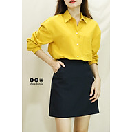 Chân Váy A Túi Mini mặc đi làm, đi học trẻ trung, trang nhã (A Line Pocket Mini Skirt) thumbnail
