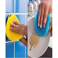 Miếng rửa bát silicon tiện dụng thumbnail