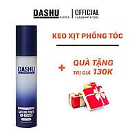 (TẶNG) Keo vuốt tóc nam độ cứng cao cho tóc ngắn, tóc vuốt dựng, keo xịt giữ nếp tóc cao cấp Hàn Quốc Dashu Caffeine Power Air Booster 120ml (Ultra Hard), chuyên dùng cho tóc khó vào nếp, tóc mỏng, keo chứa thảo dược dưỡng tóc. thumbnail