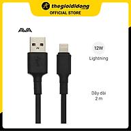 Cáp Light-ning 2 m AVA LTPL-01 Đen - Hàng chính hãng thumbnail