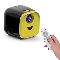 Mini LED Video Children Projector Home FamilyTheater Movie Projector 480 320 Native Resolution 50000 Hours with Remote thumbnail