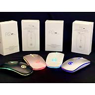 Chuột Bluetooth Model A2 Tự Thay đổi màu sắc không gây tiếng ồn khi CLICK, thiết kế cực COOL với nhiều lựa chọn thumbnail