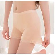 Quần mặc váy cotton phối chân ren thumbnail