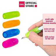 Dụng cụ hỗ trợ cầm nắm bút cho học sinh Deli - vỉ 4 chiếc - 507 thumbnail
