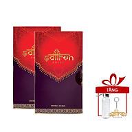 Nhụy hoa nghệ tây Saffron Salam 2 hộp 0.5gr tặng kèm bình nước thủy tinh 300ml và móc khóa Saffron Việt Nam thumbnail