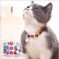 Vòng cổ chuông bạc cho mèo - màu ngẫu nhiên thumbnail