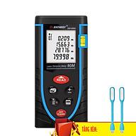 Thước Đo Khoảng Cách Bằng Tia Laser SNDWAY Phạm Vi 80m (SW-M80) Tặng 02 Đèn LED USB - Hàng Chính Hãng thumbnail