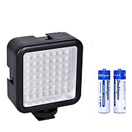 Đèn 49 LED Trợ Sáng Chụp Ảnh, Quay Phim Cho Máy Ảnh, Điện Thoại Tặng Kèm 2 Viên Pin Sạc AA 1200 mAh thumbnail
