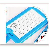 Bộ 2 Thẻ treo vali, túi xách, ba lô hành lý thumbnail